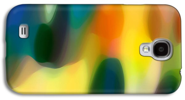 Fury Digital Art Galaxy S4 Cases - Fury Rain 1 Galaxy S4 Case by Amy Vangsgard