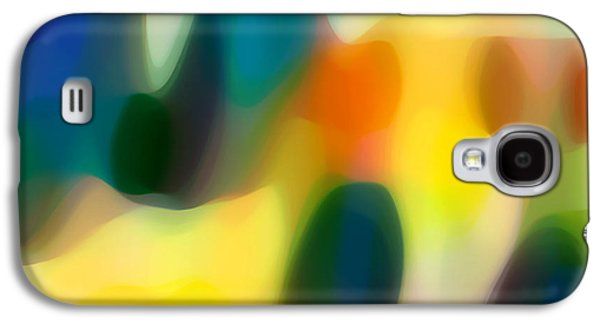 Abstract Movement Galaxy S4 Cases - Fury Rain 2 Galaxy S4 Case by Amy Vangsgard