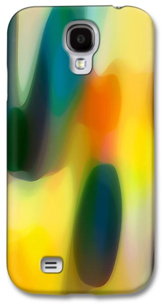 Fury Digital Art Galaxy S4 Cases - Fury Rain 3 Galaxy S4 Case by Amy Vangsgard