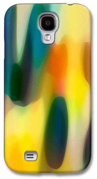 Fury Digital Art Galaxy S4 Cases - Fury Rain 4 Galaxy S4 Case by Amy Vangsgard