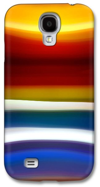 Fury Digital Art Galaxy S4 Cases - Fury Sea 5 Galaxy S4 Case by Amy Vangsgard