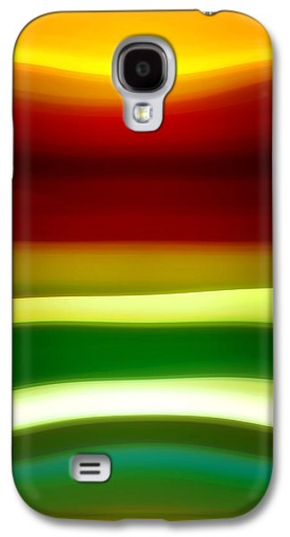 Fury Digital Art Galaxy S4 Cases - Fury Sea 7 Galaxy S4 Case by Amy Vangsgard