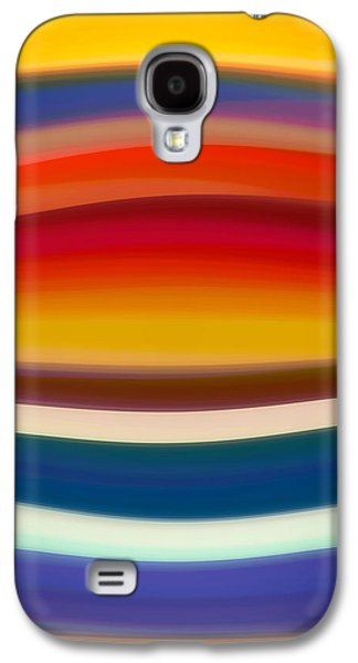 Fury Digital Art Galaxy S4 Cases - Fury Sea 8 Galaxy S4 Case by Amy Vangsgard