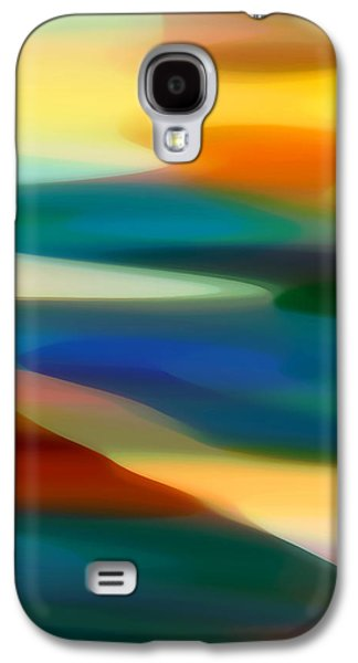 Fury Digital Art Galaxy S4 Cases - Fury Seascape 3 Galaxy S4 Case by Amy Vangsgard