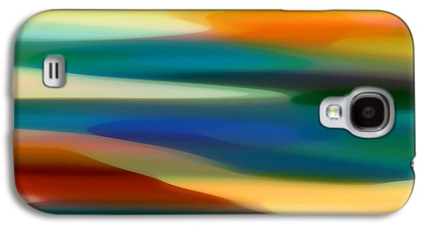 Fury Digital Art Galaxy S4 Cases - Fury Seascape 4 Galaxy S4 Case by Amy Vangsgard