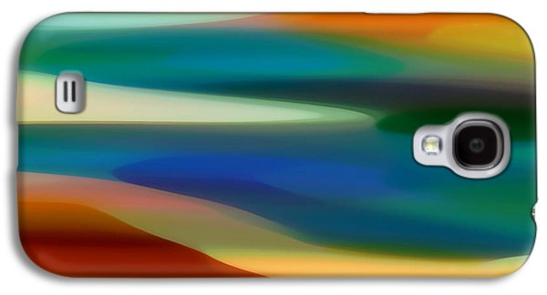 Abstract Digital Digital Galaxy S4 Cases - Fury Seascape 5 Galaxy S4 Case by Amy Vangsgard