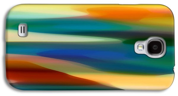 Abstract Movement Galaxy S4 Cases - Fury Seascape 6 Galaxy S4 Case by Amy Vangsgard