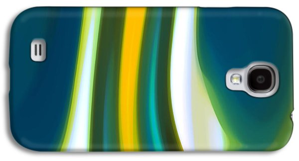 Nature Abstract Galaxy S4 Cases - Abstract Tide 7 Galaxy S4 Case by Amy Vangsgard