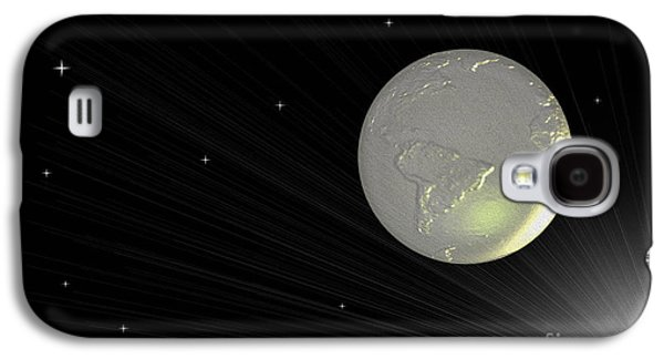 Abstract Digital Photographs Galaxy S4 Cases - Future Earth 2 Galaxy S4 Case by Cheryl Young