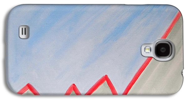 Chart Paintings Galaxy S4 Cases - Future Galaxy S4 Case by Patrick J Murphy