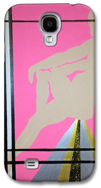 Jail Paintings Galaxy S4 Cases - Futurhistic Galaxy S4 Case by Erika Chamberlin