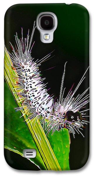 Digital Galaxy S4 Cases - Fuzzy Caterpillar Galaxy S4 Case by Bill Caldwell -        ABeautifulSky Photography