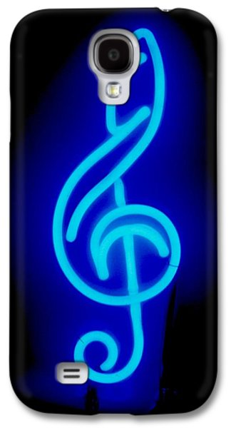 Celebrities Sculptures Galaxy S4 Cases - G Clef Galaxy S4 Case by Pacifico Palumbo