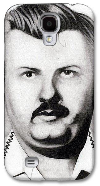 John Wayne Drawings Galaxy S4 Cases - Gacey Galaxy S4 Case by Kris Milo
