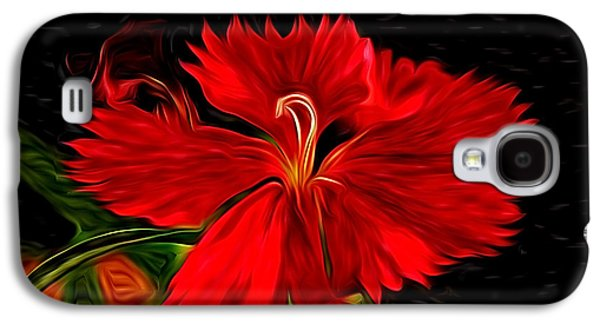 Fort Collins Galaxy S4 Cases - Galactic Dianthus Galaxy S4 Case by David Kehrli