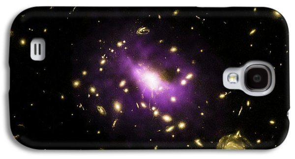 Galaxy Cluster Rx J1532 Galaxy S4 Case by Nasa/cxc/stanford/j.hlavacek-larrondo Et Al/esa/stsci/m.postman And Clash Team