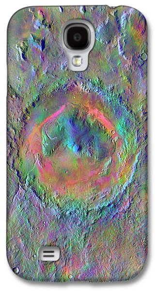 Gale Crater Galaxy S4 Case by Nasa/jpl-caltech/asu