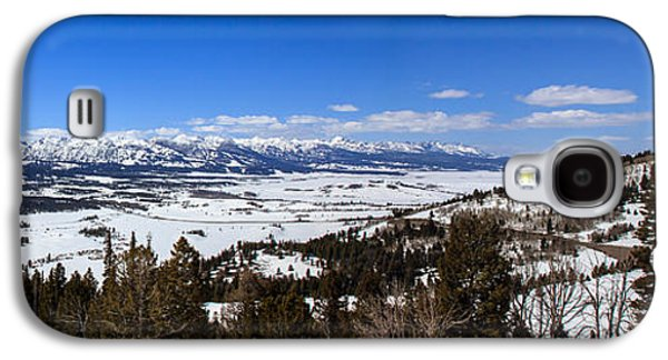 Haybale Galaxy S4 Cases - Galena Overlook Galaxy S4 Case by Robert Bales