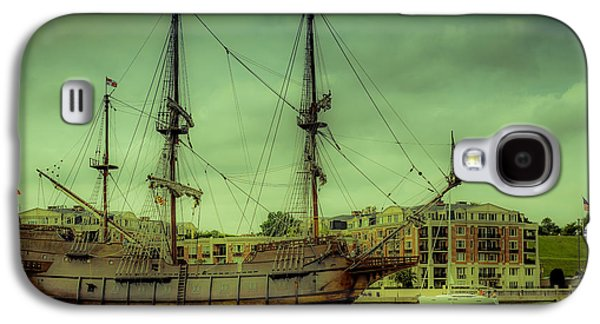Transportation Photographs Galaxy S4 Cases - Galeon Galaxy S4 Case by Michael Sage Friean