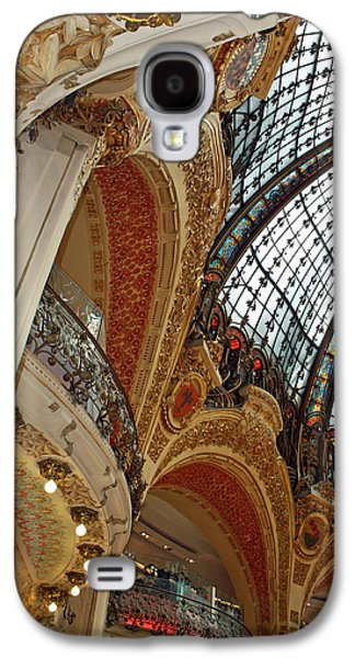 Architecture Framed Prints Galaxy S4 Cases - Galeries Lafayette Galaxy S4 Case by Kathy Yates