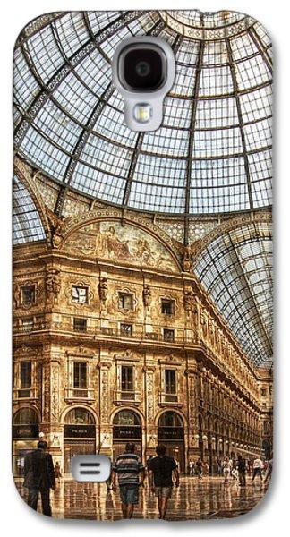 Landmarks Photographs Galaxy S4 Cases - Gallery Vittorio Emanuele II Galaxy S4 Case by Oleg Koryagin