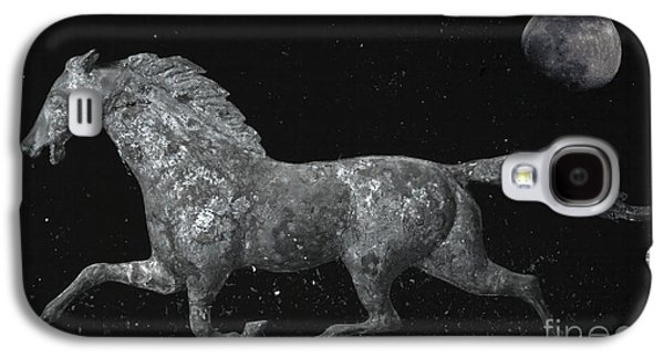 Weathervane Galaxy S4 Cases - Galloping Through The Universe Galaxy S4 Case by John Stephens