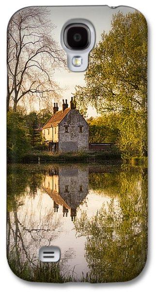 Woodlands Scene Galaxy S4 Cases - Game Keepers Cottage Cusworth Galaxy S4 Case by Ian Barber