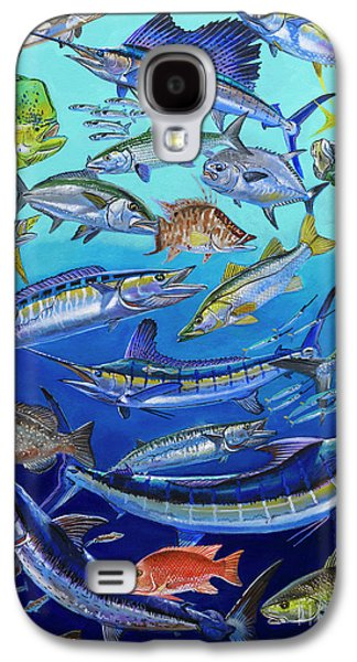 Gamefish Collage In0031 Galaxy S4 Case by Carey Chen