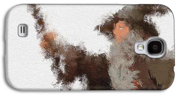 Character Portraits Galaxy S4 Cases - Gandalf the Grey Galaxy S4 Case by Miranda Sether