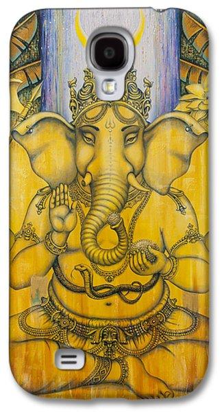 Ganesha Galaxy S4 Case by Vrindavan Das