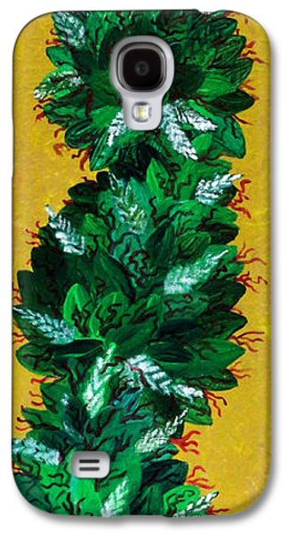 Dunk Paintings Galaxy S4 Cases - Ganja Galaxy S4 Case by Teddy Maritopia