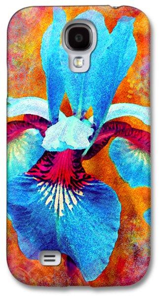 Flora Mixed Media Galaxy S4 Cases - Garden Fiesta Galaxy S4 Case by Moon Stumpp