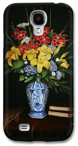 Garden Flowers  Galaxy S4 Case by Sandra Nardone
