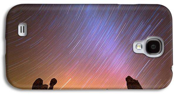 Landscape Acrylic Prints Galaxy S4 Cases - Garden of Eden Nights Galaxy S4 Case by Darren  White