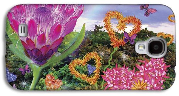 Garden Of Love 2 Galaxy S4 Case by Alixandra Mullins