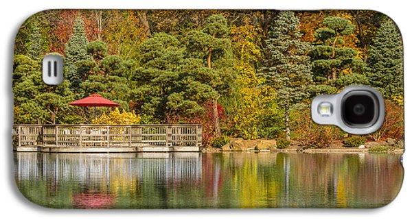 Modern Photographs Galaxy S4 Cases - Garden of Reflection Galaxy S4 Case by Sebastian Musial