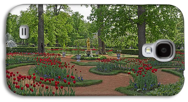 Garden Scene Galaxy S4 Cases - Garden Of The Catherine Palace Galaxy S4 Case by Panoramic Images