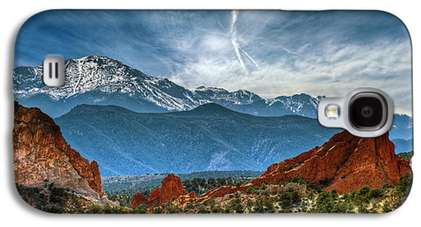 Hdr Landscape Galaxy S4 Cases - Garden of the Gods Galaxy S4 Case by Brandon Alms