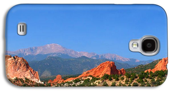 Garden Images Galaxy S4 Cases - Garden Of The Gods Galaxy S4 Case by Brian Harig