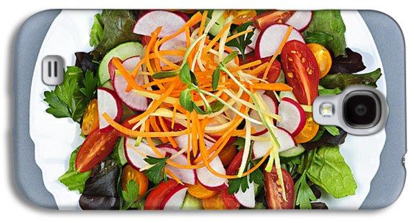 Garden Salad Galaxy S4 Case by Elena Elisseeva