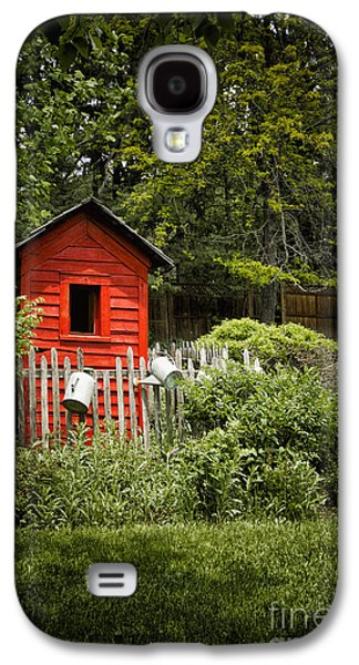 Shed Galaxy S4 Cases - Garden Still Life Galaxy S4 Case by Margie Hurwich