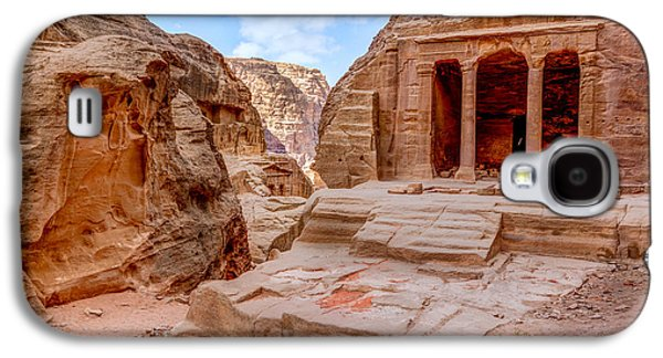 Petra - Jordan Galaxy S4 Cases - Garden Tomb Galaxy S4 Case by Alexey Stiop