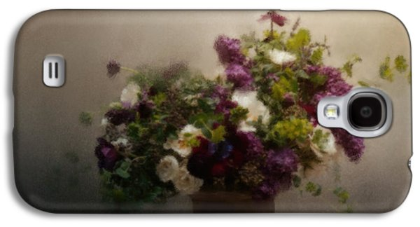 Still Life Pastels Galaxy S4 Cases - Garden Treasures Galaxy S4 Case by Jai Johnson