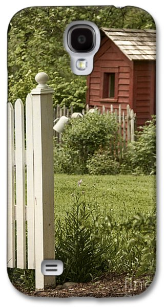 Shed Galaxy S4 Cases - Gardens Entrance Galaxy S4 Case by Margie Hurwich
