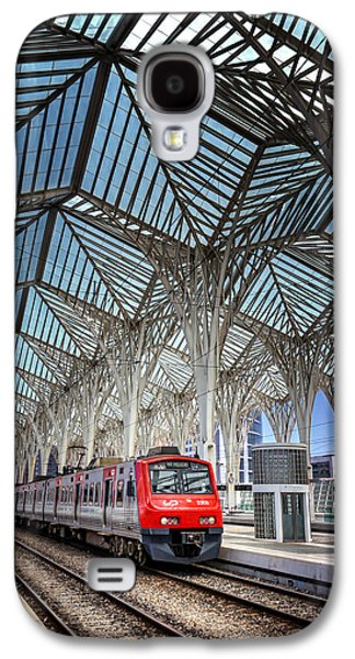 Abstracted Galaxy S4 Cases - Gare do Oriente Lisbon Galaxy S4 Case by Carol Japp