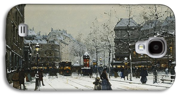 Youthful Galaxy S4 Cases - Gare du Nord Paris Galaxy S4 Case by Eugene Galien-Laloue