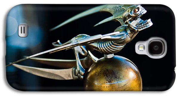 Fantasy Photographs Galaxy S4 Cases - Gargoyle Hood Ornament Galaxy S4 Case by Jill Reger