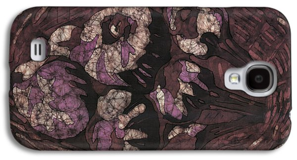 Food And Beverage Tapestries - Textiles Galaxy S4 Cases - Garlic in Basket Galaxy S4 Case by Kevin Houchin