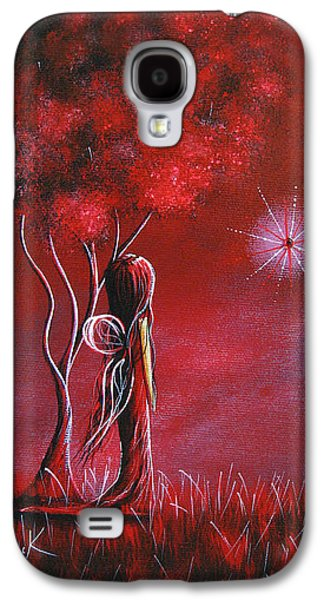 Dreamscape Galaxy S4 Cases - Garnet Fairy by Shawna Erback Galaxy S4 Case by Shawna Erback