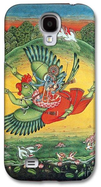 Hindu Goddess Photographs Galaxy S4 Cases - Garuda, The Vahana Of Lord Vishnu Galaxy S4 Case by Photo Researchers